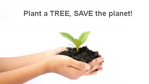 Plant Trees & Save Earth