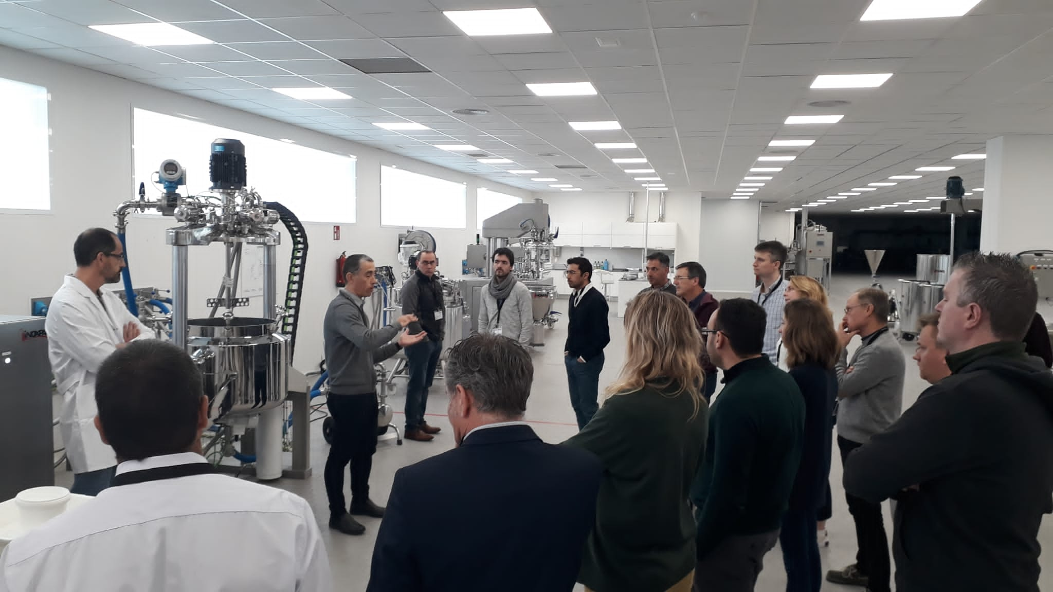 Pilot plant session: CIP systems