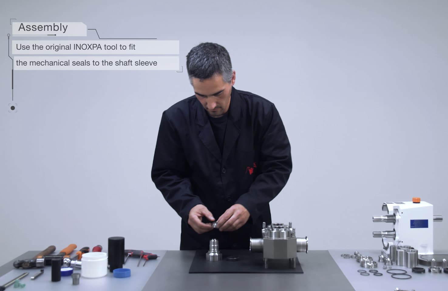 Maintenance videos: SLR rotary lobe pump
