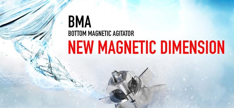INOXPA introduces the new BMA magnetic agitator range